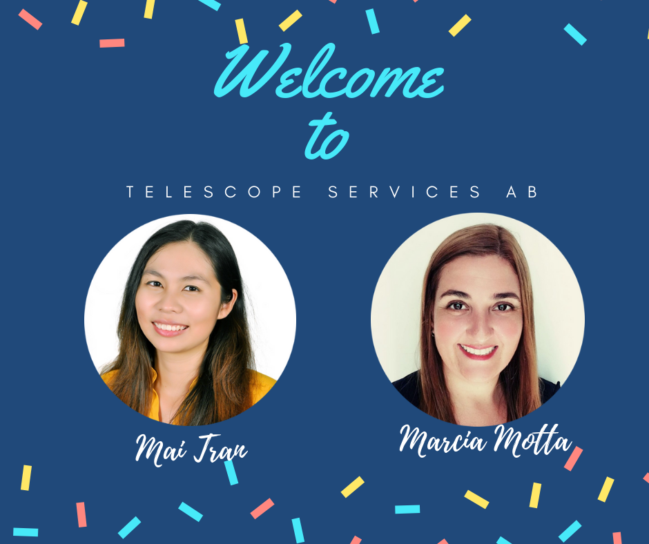 Welcome to Telescope Services AB1