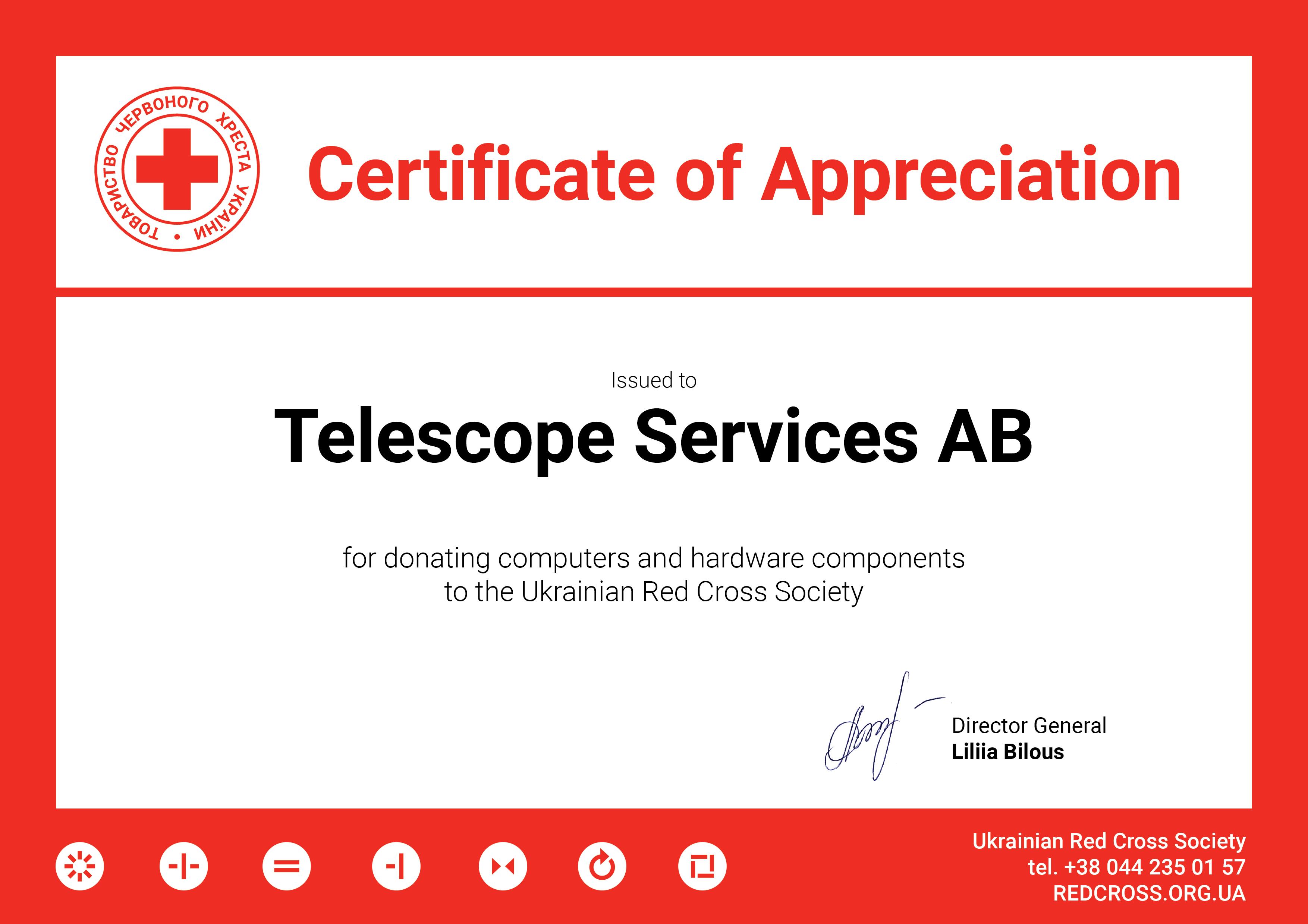 gratitude_Telescope Services